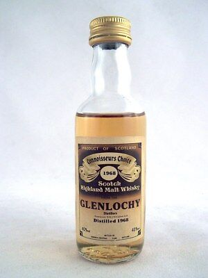 Miniature dated 1968 GLENLOCHY Malt Whisky Isle of Wine