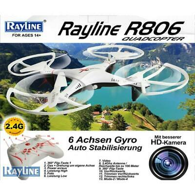 RC Quadrocopter Rayline R806 2.4 GHz 4-Kanal 6-Achsen Drohne