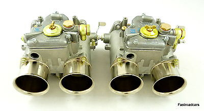 Weber 50 Dco/sp Carb/carburettors Pair 1965000700 Threaded End Shafts New