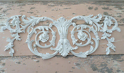 SHABBY n CHIC FURNITURE APPLIQUES WHOLESALE ARCHITECTURAL LRG  CENTER  FLEXIBLE