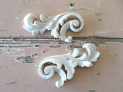 Shabby & Chic Architectural Furniture Appliques Florals * New * Onlays Moldings