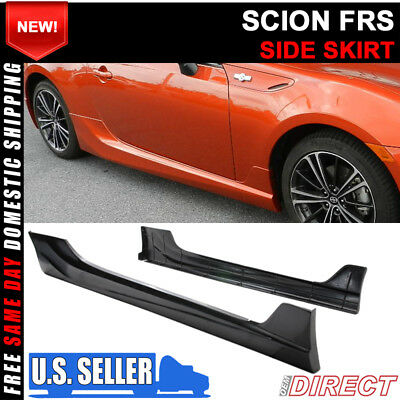 2013-2017 Scion FRS GT86 FT86 5 Five Design Style Side Skirts Poly-Urthane PU