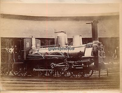 Locomotive  P.O 272 c. 1880-90 -  Train - 82