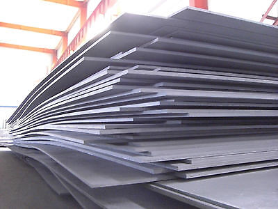 Metal Working Supplies Mild Steel Sheet 0.8Mm Thick 1200Mm X 500Mm