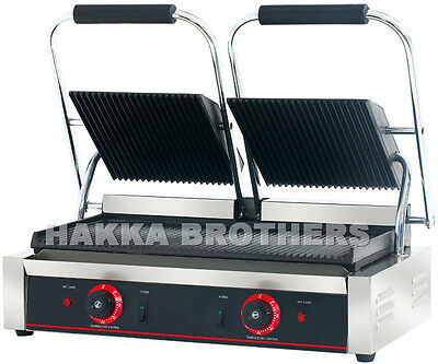 Hakka Commercial Professional Panini Press Grill and Sandwich Griddler TCG813