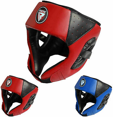 RDX Kids Headgear Head Guard Helmet Training Kick Boxing Sparring Face Protector