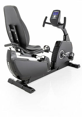 Cyclette Giro R Black Edition Recumbent Kettler Linea Advance Volano 9 kg Nero