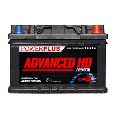 Advanced 12v Car Battery 096L Type 72ah 680cca 4 year Heavy Duty Battery