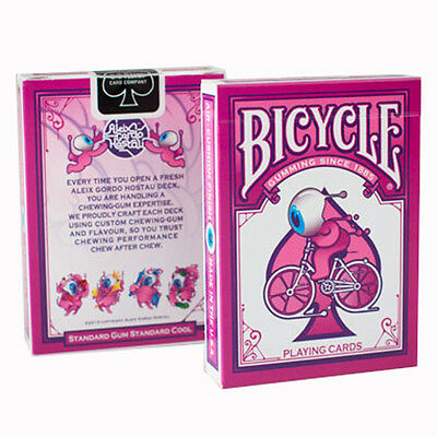 Street Art Bicycle Playing Cards - Bubblegum Themed Bicycle Card Deck from USPCC