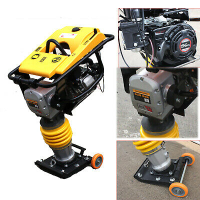 6.5HP Gas Power Jumping Jack Rammer Tamper Tamping Compactor