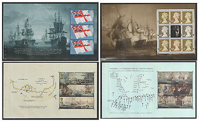 Individual Panes from DX35 / DB5(35) 2005 Battle of Trafalgar Prestige Booklet