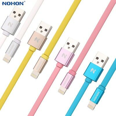 Genuine Nohon MFI USB Cable For iPhone 6 6S 5S 5C 5 iPad Air Charger Data Lead
