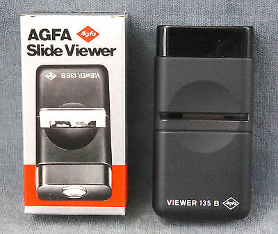 Nos Agfa Slide Viewer For 2X2 Slides - New In Box - $12.99 Free Usa Shipping