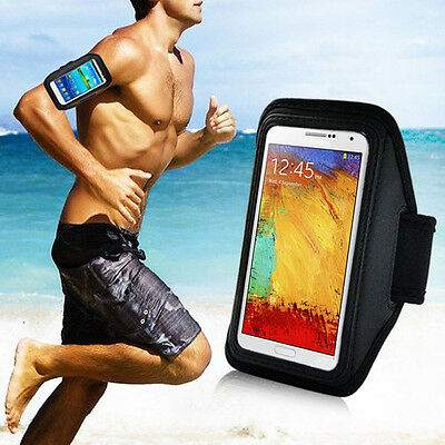 Sport Gym Running Arm Armband Case For Samsung Galaxy Note 3 2 N9000