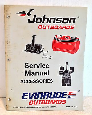 "Johnson Evinrude Outboards OMC Service Manual ""EU"" Accessories, 507270 (2779)"