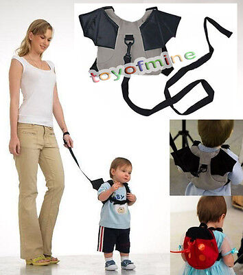 Baby Kid Keeper Toddler Walking Safety Harness Backpack Bag Strap Rein 2 Choice