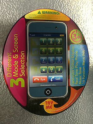 i-Mobile Battery Operated Toy Phone Ages 3 +