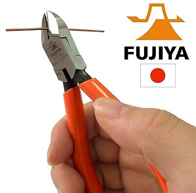 Fujiya 125mm Nippers  Micro Small Wire Side Cutters  Made in Japan