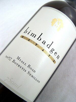 2007 BIMBADGEN ESTATE Botrytis Semillon (RD) 750ml Isle of Wine