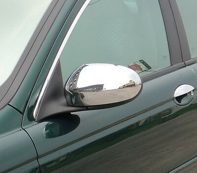 Jaguar X Type Chrome Mirror Covers  From 2001 to 2007