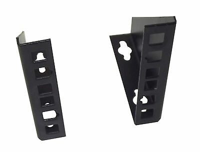 "2U 19"" Rack Bracket for WALLMOUNT VERTICAL HANG or DESKTOP/SURFACE MOUNT"