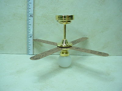 Miniature Battery Operated Light Ceiling Fan #C36W  Non-Working Sutton