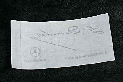 Genuine Mercedes G Daimler Signed Clear Windshield Glass Decal 0045847338