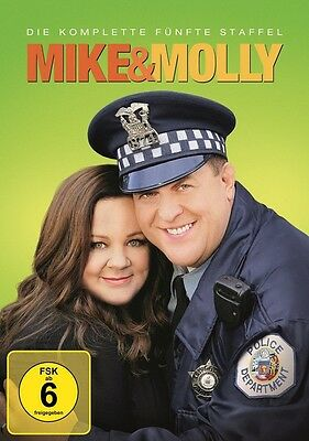 Mike & Molly - Season/Staffel 5 * NEU OVP * 3 DVDs * (and,und)