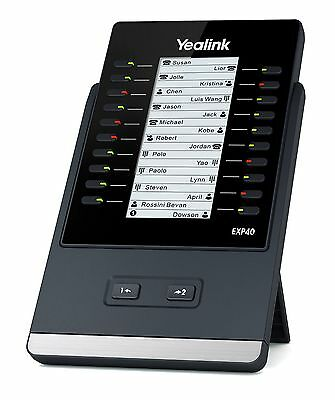 Yealink EXP40 T4 series LCD Expansion Module - FREE SHIPPING