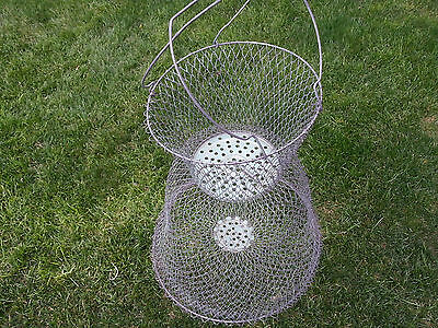 Vintage live wire jr champion 35 1 for Live fish basket
