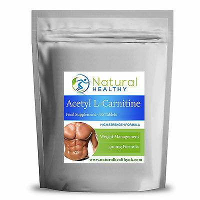 90 Acetyl L-Carnitine - High Strength - Fat Burner - Weight Loss Diet Pills