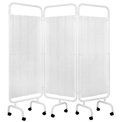 Viva Medi 3 Panel Medical Privacy Screen with Disposable Curtain