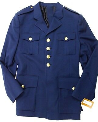 GENUINE CZECH ARMY HONOUR GUARDS PARADE DRESS JACKET in ROYAL BLUE