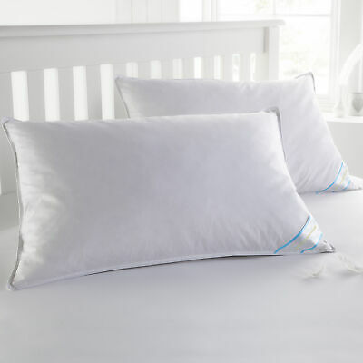 Sweet Home Collection USA Finished King Down & Feather Bed Pillows 2 Pack
