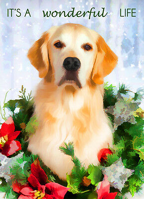 Golden Retriever Dog Christmas Greeting Cards (PACK OF 5)