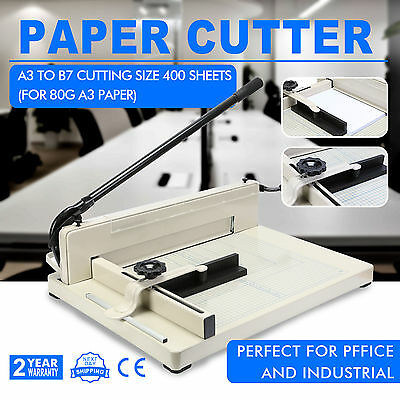 Professional A3 Paper Cutter Trimmer Guillotine Machine Safety Guard Home Office