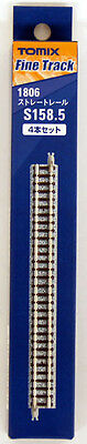 Tomix 1806 158.5mm Straight Track S158.5 (4 Pieces) (N scale)