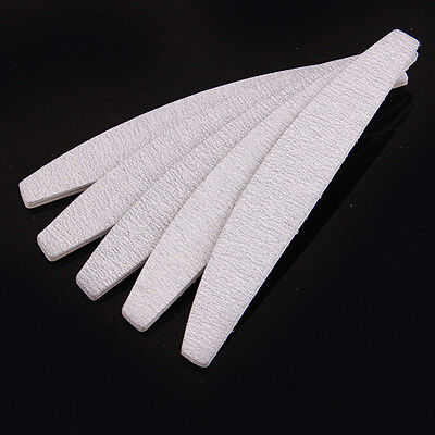 10 x Nail Files Sanding for Nail Art Tips Manicure