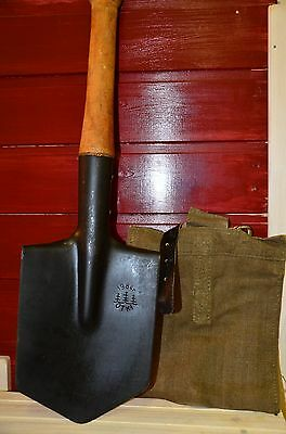 Authentic Russian Soviet Army Sapier Spade Shovel 1980 years made