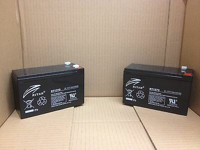 Panasonic LC-R127R2P LC-R127R2P1 UP-RWA1245P1 Battery X 2 RITAR
