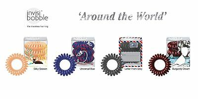 Invisibobble Traceless Hair Ring Around The World Collection - Silky Season