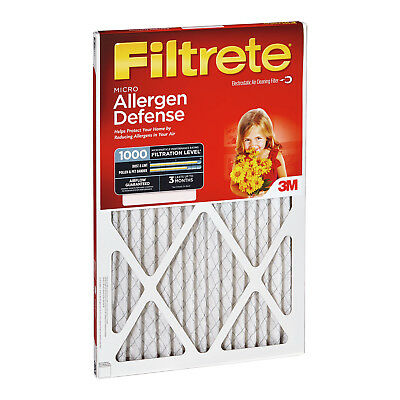 3M Filtrete 20x20x1 Micro Allergen Reduction Air Filter