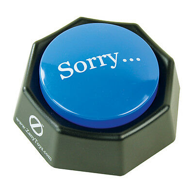 The Sorry Button