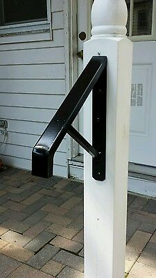ONE Step Wrought Iron Best Grip HandRail  **STRONG & STURDY ****#1 SELLER******