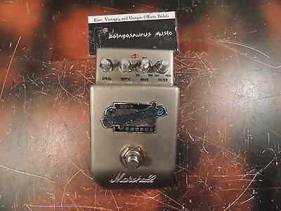 Marshall Sv-1 Super Vibe Stereo Chorus Effects Pedal Supervibe Free S&h