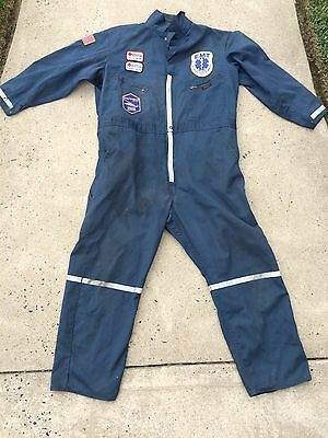 Fire/Rescue/EMS Dickies Coveralls Jump Suit Presidential Lakes Fire/Rescue NJ 50