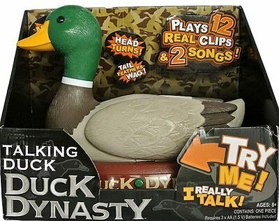 Duck Dynasty Talking Duck Plays 12 Clips & 2 Songs A7E Tv Show