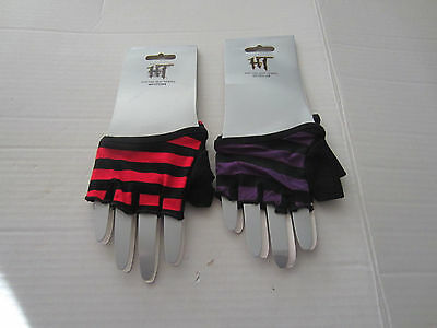 Striped Fingerless Gloves From Hot Topic Choose Different Colors