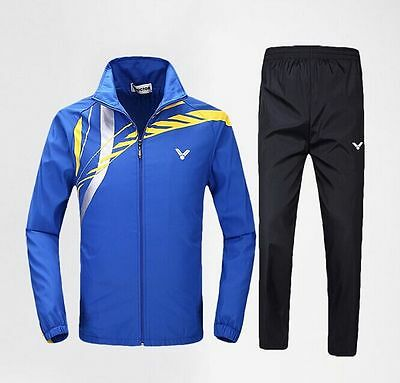 Victor Men's Casual clothes coats Long-sleeved sports suit clothing Jacket
