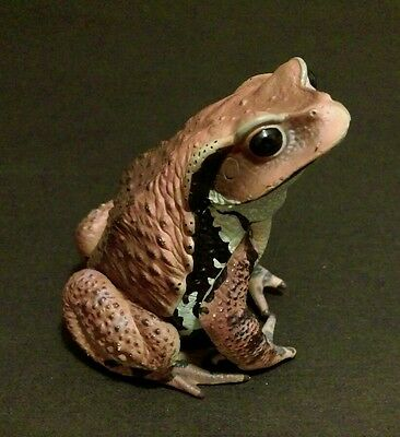 Kitan Club Nature Techni Color Common Brown Toad Frog Figure